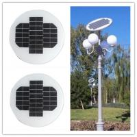 12 Volt 150W Circle Solar Panel Aluminum Alloy Frame For Outside Led Lamps Manufactures
