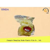 NY / PE Clear Window Food Vacuum Bags with 3 Layer Co Extruded Film Logo