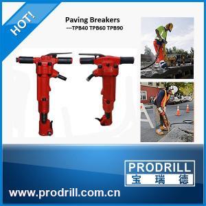 TPB40 TPB60 TPB90 paving breaker stone breaking hammer 0.63Mpa for mining Manufactures