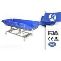 Waterproof Electric Hospital Bed , Hospital Medical Bed Bath For Patient Manufactures