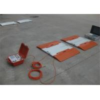 Accuracy ±0.07% Portable Axle Weighbridge 20V DC Power Supply Easy Operation Manufactures