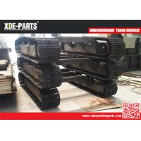 Multifunctional steel track assembly steel crawler chassis undercarriage track chassis For PC200 PC300 PC400 Manufactures