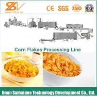 Energy Saving Corn Flakes Production Line Easy Operation And Repair Manufactures