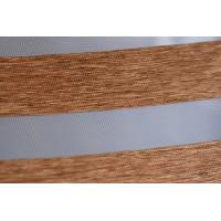 Wood Look Zebra Blinds fabric for Interior Decoration Manufactures