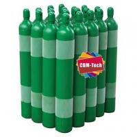 High Pressure 10L Refillable Oxygen Cylinders with Pin Index Valves Cga870 Manufactures
