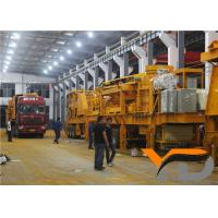 High Capacity Mobile Crusher Station Portable Crusher Plant One Year Warranty for sale