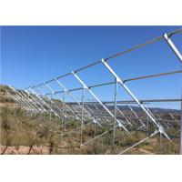 Q345B Galvanized Steel Channel For Solar Energy Mounting System Wind Resistance Manufactures