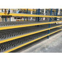 Easy Assemble Or Welded Flow Through Racking 1000 - 12000mm Height Manufactures