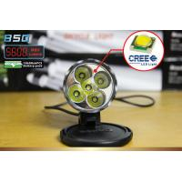 Safety 50W Front LED Bike Lights 5600 Lumen , cree xml t6 Led bike bicycle light Manufactures