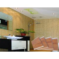 Waterproof Wooden Stamping Plastic PVC Wall Panels Toliet CE SGS Manufactures