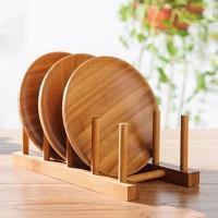 Kitchen Wooden Plate Display Rack Manufactures