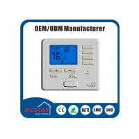 China Modulating Electric 1H / 1C 7 Day Programmable Thermostat , Central Heating Room Thermostat on sale
