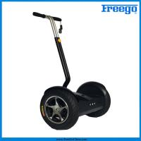 """Black Electric Self Balance Scooter with 17"""" wheel 1000 motor remote controller for  Amusements Manufactures"""