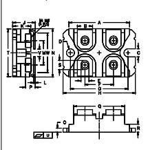 China IGBT Power Module MMO62-12I06 AC Controller Modules IXYS igbt power module on sale
