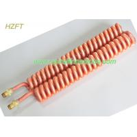 China Customized Condenser Coils Liquid Cooling / Finned Coil Heat Exchangers on sale