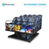 Quality Heavy Movie Shooting Equipment , Stereo Surround Sound 5d Cinema System for sale