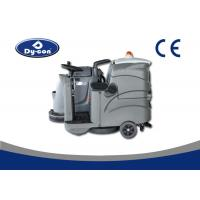 Dycon Cordless Driving Ground Cleaner , Floor Scrubber Dryer Machine With One Brush Manufactures