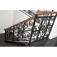 China Black Grey Cast Iron Handrails Anti Corrosion For Highway Railway Fence on sale