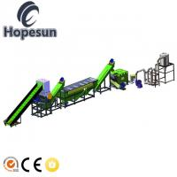 300kg/Hr Plastic Film Recycling Machine / Plastic Bag Recycling Machine Manufactures