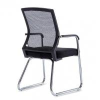 Contemporary Mesh Back Office Chair Without Wheels Ergonomic Style Manufactures