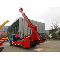 High Mobility Truck Mounted Drilling Rig Hydraulic Chuck For Highway Manufactures