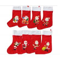 16inch Christmas Santa Stocking Plush Gift For Christmas Holiday Celebrate Manufactures