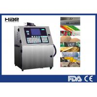 Continuous Small Character Inkjet Coding Machine USB Interface For Food Industry Manufactures