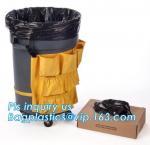 Drawstring Medium Trash Bags Car Trash Bag,8-9 Gallon Garbage Bags for Home