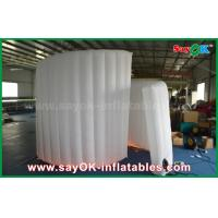 Buy cheap 210D Oxford Fabric Inflatable White Spiral Wall For Photo Booth Tent 1 Year Warranty from wholesalers