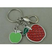 Beauty 3D Logo Promotional Key Rings Personalised With Swarovski Manufactures