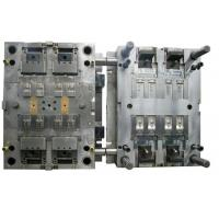 S136 Steel Thermoplastic Injection Molding , Injection Mold Making For Black Electronic Parts
