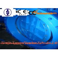 China Sanitary Concentric Double Flanged Butterfly Valve 12 Inch 24 For Industrial on sale