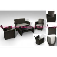 MTC-044 garden sofa set-rattan sofa set-outdoor wicker cozy sofa- rein wicker set-PE rattan Manufactures