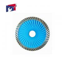 China 10 Inch Diamond Circular Saw Blade with Turbo Wave for Cutting Marble on sale