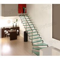 High Grade Stainless Steel Railing Glass Stair Case Manufactures