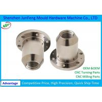 Alu CNC Turning Machine Parts +/-0.005mm Tolerance for Auto Manufactures