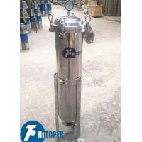Small Size Bag Filter Housing Large Processing Capacity 17L Volume Vertical Structure Manufactures
