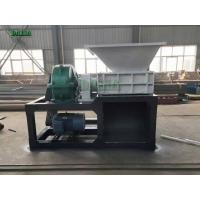 Multifunctional Single Shaft Shredder Machine For Plastic / Metal Recycling Manufactures