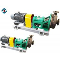 Industrial Mechanical Seal Chemical Process Pump Cantilever Type Single Stage Manufactures