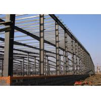 Light Steel Frame Building , Grey Steel Frame Workshop Up To 50 Years Lifetime