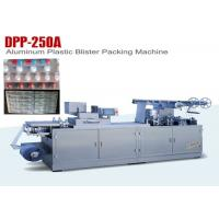 China Full Automatic Blister Forming Flat Type Aluminum Plastic Blister Packing Machine on sale