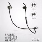 Handsfree Music BT Portable Sound Sport Running Headset Mate9s Wireless BT Earphone Manufactures