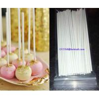 China Paper stick for lollipop and cake pops sticks on sale