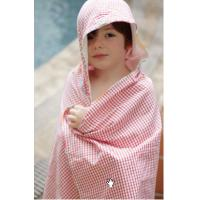 Toddler Hooded Bath Towel Infant Bath Accessories Safe Absorbent Cotton Material Manufactures