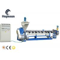 PP PE Film Bag Plastic Pelletizing Machine Water Ring Cutting Recycling Manufactures