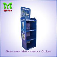 Floor Advertising Display Stands for Sport Products , Cardboard Sunglasses Display Stand Manufactures