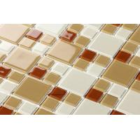New Best Selling  Atpalas Sourttain Square Glass Mosaic Tile AGL7007 Manufactures