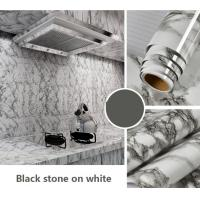 Home kitchen wall marble decorative film for sale