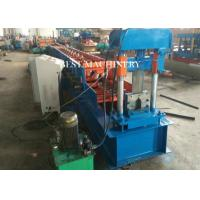 Buy cheap T Profile Purlin Channel Hydraulic Roll Forming Machine 8700*1550*1910mm from wholesalers
