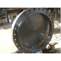 Durable 304L Duplex Stainless Steel Pipe Flange Smooth Surface 2500# 1/2 - 24 B16.5 Manufactures